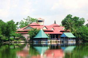Hồ Bình An là điểm đến hấp dẫn cho du khách tham quan