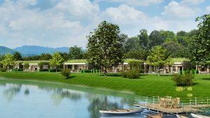 Hồ Đại Lải có không khí trong lành, thiên nhiên tươi mát , là điểm đến hấp dẫn cho du khách