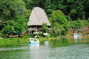 Hồ lake ở Măng Đen là nơi nghỉ dưỡng tuyệt vời cho du khách