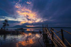 Cảnh đẹp Hồ Ea Snô
