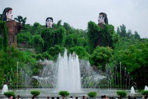 Sự tích 3 cây thông ở trong khu du lịch hấp dẫn du khách