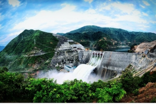 Hồ thủy điện Nậm Mu