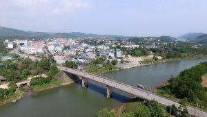 Thi trấn nhỏ huyện Tiên Yên