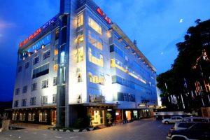 Một khách sạn ở thành phố Hòa Bình