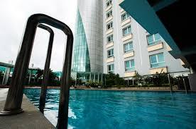 Khách sạn Kaya Phú Yên có bể bơi rộng, đưa lên cảm giác thoải mái cho du khách