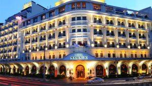 Một khách sạn sang trọng ở Sài Gòn