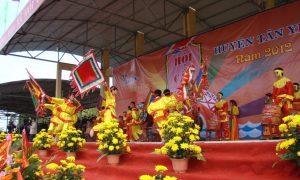 Một lễ hôi ở Tân Yên