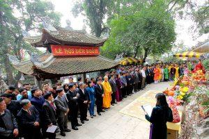 Lễ hội đền Đuổm là lễ hội lớn nhất tỉnh Thái Nguyên