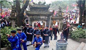 Lễ hội đền Đuổm ở Phú Lương