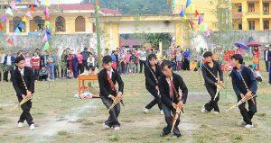 Nhiều trò chơi được thực hiện trong lễ hội