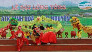 Lễ hội Lồng Tồng được diễn ra trong không khí vui tươi nhằm cầu cho một năm mưa thuận gió hòa, mùa màng bội thu