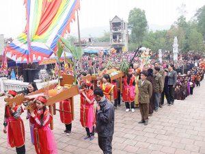 Lễ hội Núi Văn-Đại Từ với nhiều nghie lễ truyền thống