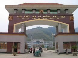 Của khẩu Ma Thù Làng cửa cửa khẩu lớn giữa Việt-Trung
