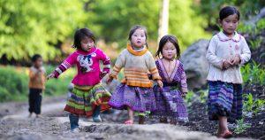 Những đứa trẻ ở Mai Châu vô cùng đáng yêu
