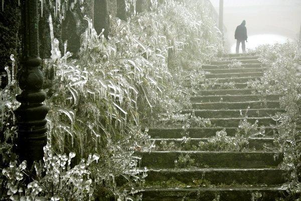 Mẫu sơn mùa đông tuyệt đẹp với băng tuyết
