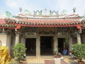 Miếu cổ người Hoa Đức Phước là điểm du lịch Bạc Liêu ấn tượng