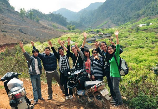 Phượt xe máy đến Mộc Châu