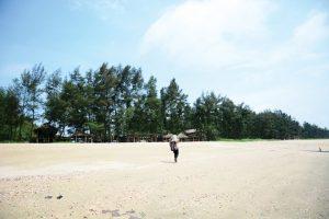 Mũi Sa Vĩ ở Quảng Ninh