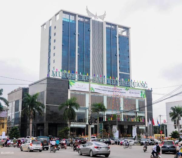 Mường Thanh Tuyên Quang là khách sạn 4 sao lớn nhất tỉnh