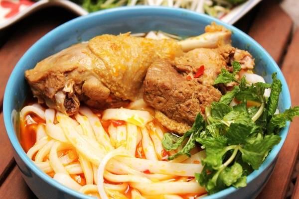 Mỳ Quảng nổi tiếng khắp nước ta
