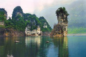 Hồ Na Hang kỳ vĩ, mộng mơ
