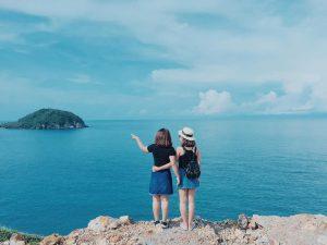 Biển Nam Du là điểm Check in của nhiều bạn trẻ