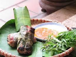 Món nem nướng đặc sản huyện Việt Yên