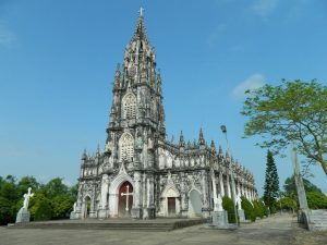 Nhà thờ với dáng vẻ cổ kính