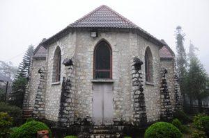 Nhà thờ bình yên, thanh tĩnh trong không gian tuyệt vời ở Sa Pa