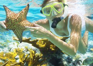Các bạn hãy lặn biển khi đi du lịch Kiên Giang