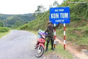 Du lịch Phượt Kon Tum bằng xe máy