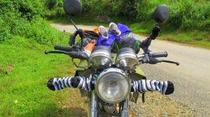 Xe máy là phương tiện lý tưởng để du lịch Vĩnh Phúc