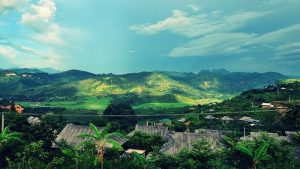 Bản làng ở Quỳnh Nhai