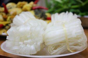 Mỳ Nhũ nổi tiếng ở Bắc Giang