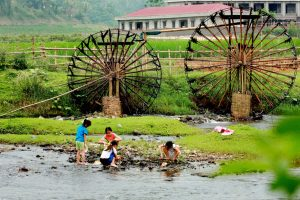 Những cọn nước ở Tân Sơn