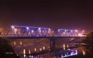 Sông Thương về đêm