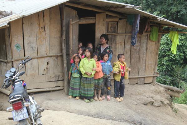 Những đứa trẻ ở huyện Sốp Cộp