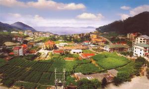 Khung cảnh thị trấn Tam Đảo