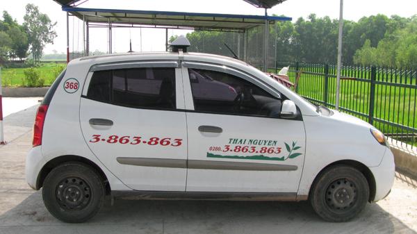 Taxi ở huyện Phú Lương