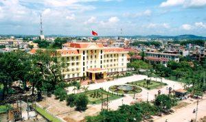 Một trụ sở hành chính ở thành phố Bắc Giang