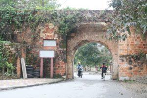 Một cổng thành nhà mạc ở Lạng Sơn