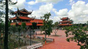 Du lịch Cần Thơ tĩnh lặng trong thiền viện Phương Nam
