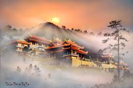 Thiền viện trúc Lâm Tây Thiên là thiền viện lớn nhất Việt Nam