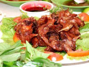 Thịt chuột đồng của người Kon Tum ngon, béo và chắc thịt