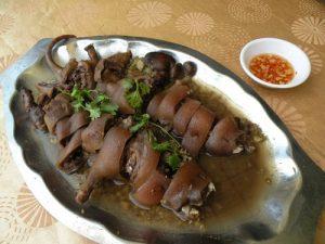 Món thịt dúi đặc sản huyện Yên Thủy