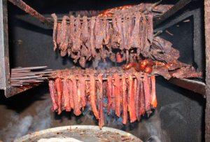 Thịt lợn mối của các dân tộc miền núi