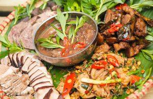 Những món ngon hấp dẫn được chế biến thành thịt lợn đen