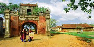 Dấu ấn về làng gốm Thổ Hà hiện hữu trên mọi kiến trúc của Làng
