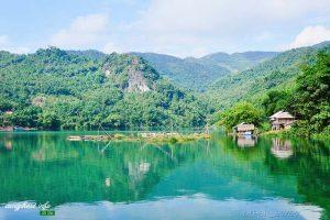 Một không gian xanh hiền hòa, mơ mộng đủ để quên đi những tấp nập của cuộc sống.
