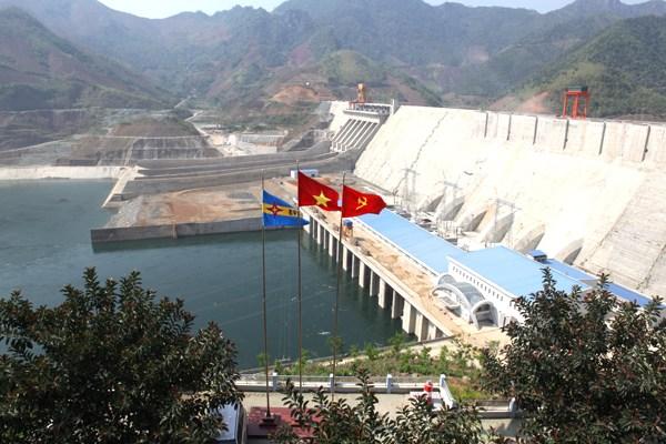 Đập thủy điện Lai Châu là công trình trọng điểm quốc gia góp phần lớn trong phát triển kinh tế, xã hội
